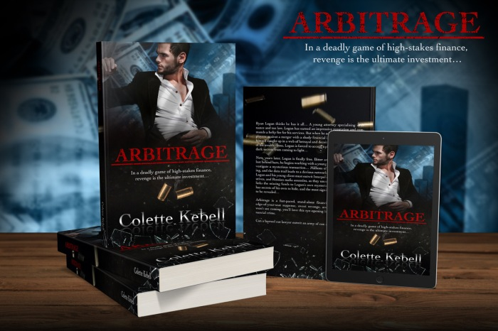 Book Review: Arbitrage @ColetteKebell @rararesources#selfpublished